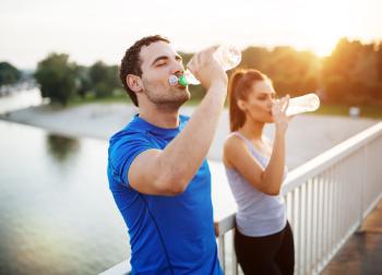 Hydratation, boire de l'eau